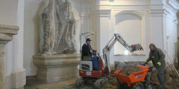 Obnova notranjosti cerkve v Stanežičah