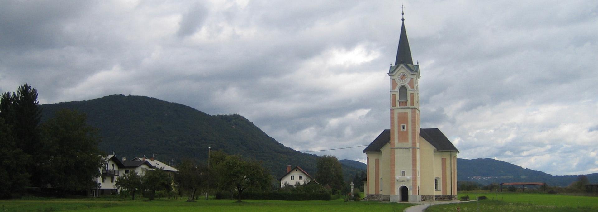 Podružnična cerkev svetega Jakoba v Stanežičah